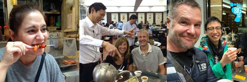 hong kong food tour - big foot tour - eat like a local
